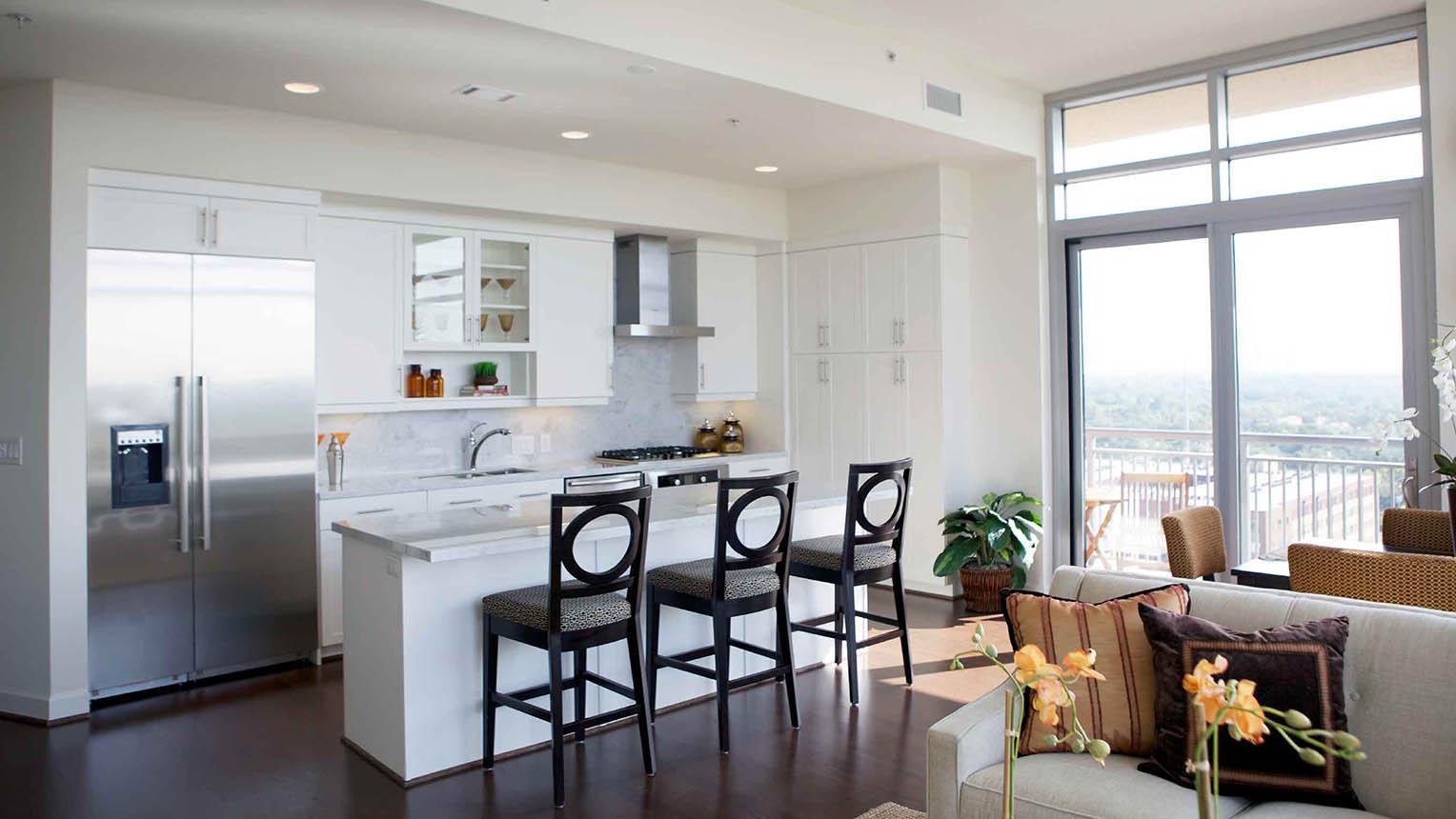 executive housing kitchen