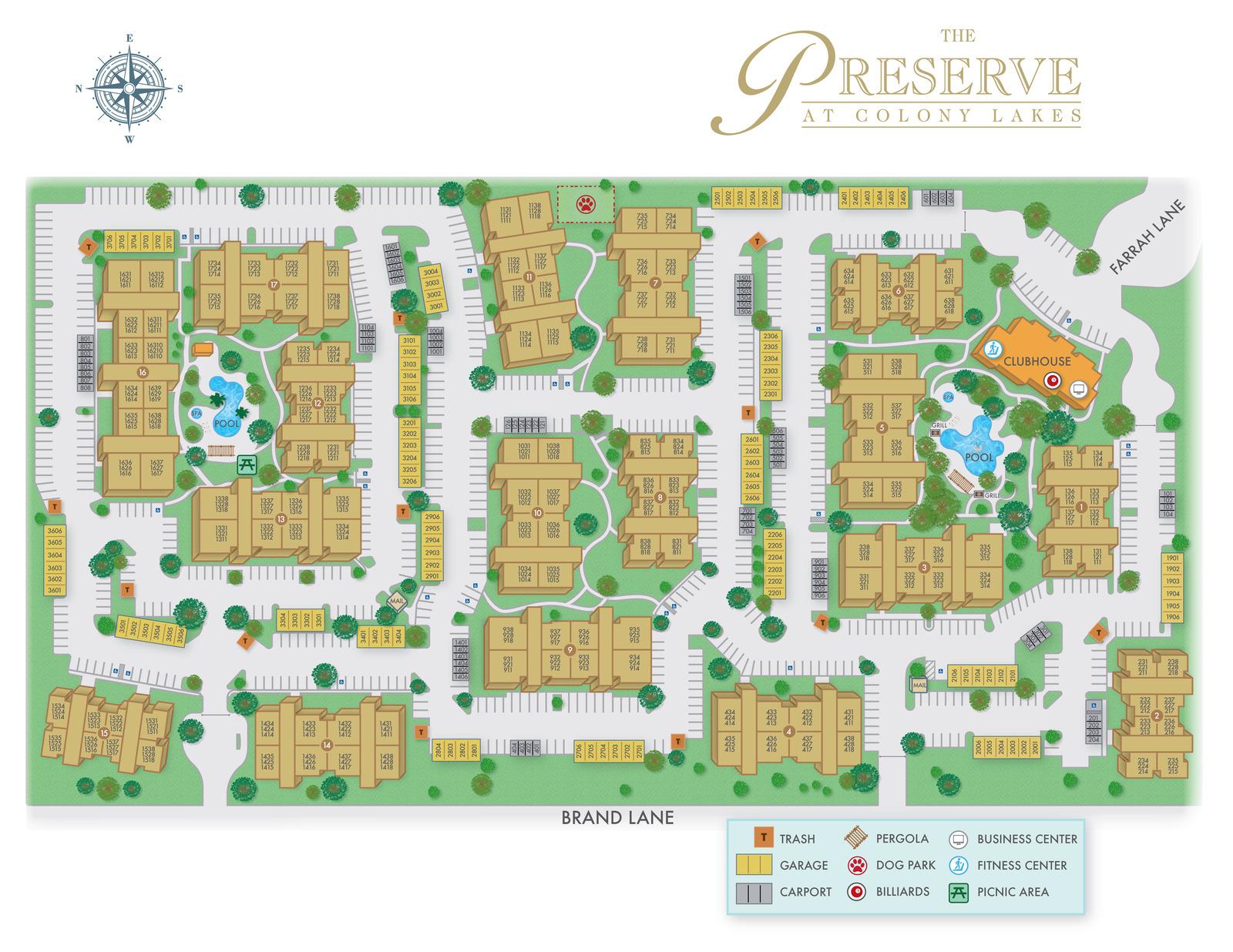 The Preserve At Colony Lakes Furnished Corporate